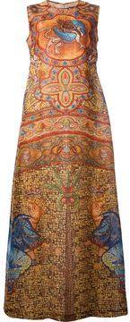 Dolce & Gabbana long silk mosaic print dress on shopstyle.com