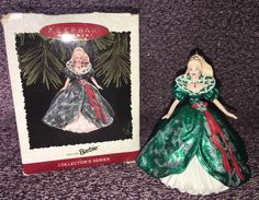 Vintage Holiday Barbie 1995 Hallmark Keepsake Collectible Ornament