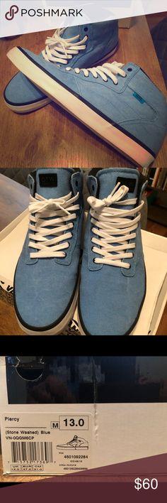 808eccbb6f Vans OTW Collection Piercy - Stone washed blue - Size 13 Vans Shoes Sneakers
