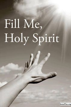 Fill us holy spirit 🌠 🌠 🌠 yeshua jesus, lord and savior, holly spirit, f Faith Quotes, Bible Quotes, Bible Verses, Profound Quotes, Lord And Savior, God Jesus, Christian Life, Christian Quotes, Christian Living