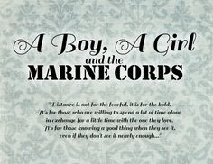 Marine Girlfriend Quote Pictures a boy a girl and the marine corps marine girlfriend Marine Girlfriend Quote. Here is Marine Girlfriend Quote Pictures for you. Marine Girlfriend Quote good at cleaning and making the bed too haha marine. Military Girlfriend Marine, Marine Girlfriend Quotes, Marine Quotes, Military Life, Usmc Quotes, Military Deployment, Military Humor, Military Spouse, Military Veterans