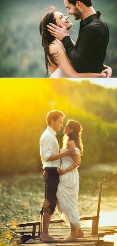 Romantic couples picture examples modeling poses — 12