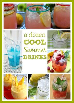 12 Cool Drinks to beat the heat!!