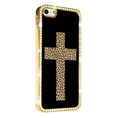 Cross Cheetah Leopard Tiger Fashion Gold iPhone 5/5S Case Luxury Style Cover Diamond Crystal Rhinestone Bling Hard Gold Case Cover for iPhone 5 and 5S PAZATO http://www.amazon.com/dp/B00NPR4ONO/ref=cm_sw_r_pi_dp_xqziub0ZZHB7D