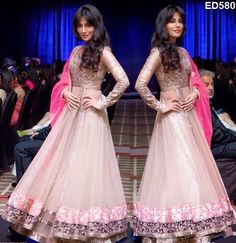 Enriching Split Designer Anarkali Kameez Pretty Stylish Anarkali Partywear Kameez Engagement