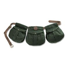 Beretta Waxwear Cotton Game Belt Old Collection € 59,00 -  Leather's belt with three wax cotton pouches for cartridges.