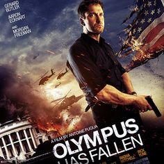 Check out the poset of Hollywood thriller  'Olympus Has Fallen' featuring Gerard Butler.