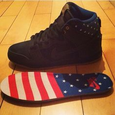 nike sb dunk high fourth of july 2014 2 Nike SB Dunk High Independence Day 2014