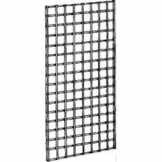 Amazon.com: ExecuSystems Deluxe Grid Panel for Retail Display 2' x 6' Priced 3 Per Carton, Black: Home & Kitchen