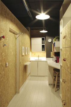 as built coworking space contemporary cabin ferrol spain designboom