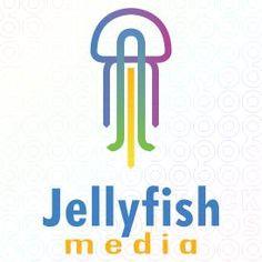 Jellyfish media logo by MDS