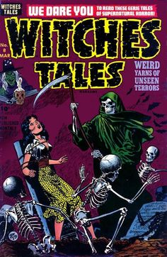 Cover for Witches Tales (Harvey, 1951 series) #8