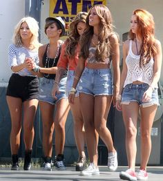 The Saturdays Hairstyles