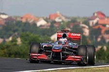 Jenson Button (GBR) McLaren MP4/25. Formula One World Championship, Rd 12, Hungarian Grand Prix, Practice Day, Budapest, Hungary, Friday, 30 July 2010  © Sutton Images. No reproduction without permission