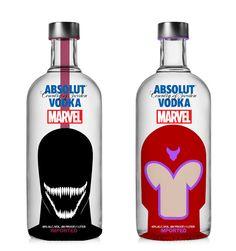 Absoult Marvel-ous, un juego de palabras que define a la perfección estos diseños que una diseñadora de Indonesia ha creado para la marca sueca de vodka. Sólo es un concepto, aunque bien podría hacerse realidad porque todo encaja a la perfección (y después del juego de palabras que hemos hech…