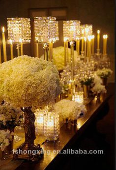 C51 crystal candle holders for wedding and party decoration, View tall candle holders for weddings, Julai tall candle holders for weddings P... $750