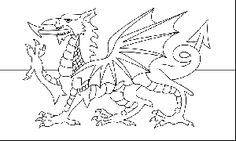 pow flag coloring pages | The 25+ best Wales flag ideas on Pinterest | Union kingdom ...