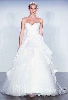 Brides: Jim Hjelm Wedding Dresses   Fall 2015   Bridal Runway Shows   Brides.com | Wedding Dresses Style