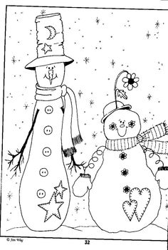1204 Best Snowman Stitching Patterns images in 2019