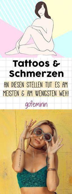 Tattoos & Schmerzen: Wo tut es besonders weh und wo am wenigsten