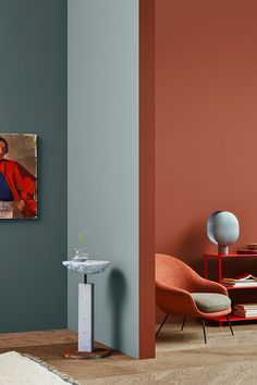 The Scandinavian company Jotun Lady predicts the interior colour trends of 2020 with 12 new colours Home Design, Home Interior Design, Interior Decorating, Interior Colour Design, Design Color, Interior Painting Ideas, Decorating Jars, Interior Color Schemes, Design Homes