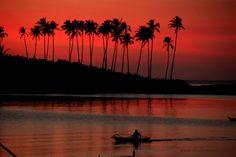 Sunset on Palawan