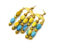 AB Color Earrings
