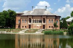 This half day tour gives you the chance to admire two unique sights in Romania situated nearby Bucharest: Mogosoaia Palace which reunites Venetian and Ottoman architectural elements in a unique overall style generally known as Brancovenian Style and Church Architecture, Futuristic Architecture, Wonderful Places, Beautiful Places, Amazing Places, Architectural Elements, Eastern Europe, Day Tours, The Good Place
