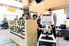 We took our showroom down to Birmingham Design Festival, as well as giving you the chance to screen print a bag! Design Festival, Birmingham, Showroom, Create Yourself, Screen Printing, Desk, Events, Bag, Furniture