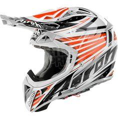 2015 Airoh Aviator 2.1 Helmet Valor Orange Gloss