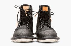Adidas by Tom Dixon minimalist traveler's shoes + lace-up boots