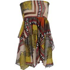 ETRO Short dress found on Polyvore