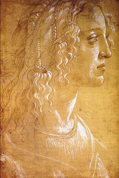 All sizes | Sandro Botticelli - Simonetta Vespucci drawing [1476] | Flickr - Photo Sharing!