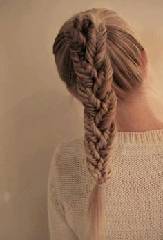 fishtail braid in ANOTHER braid!