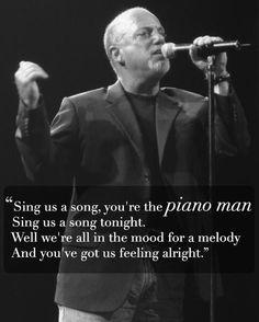 Billy Joel ~ Piano Man