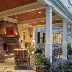 Would love to make my underneath back porch look something like this!!! Love it!