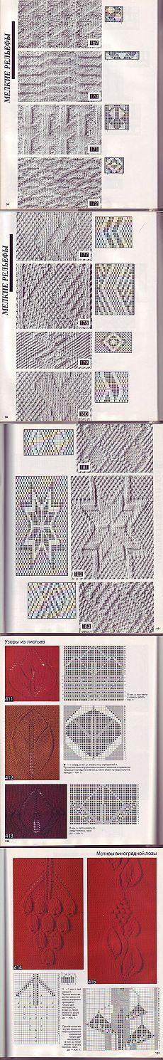 Книга «Волшебный клубок. 700 схем и образцов. Курс по вязанию спицами»