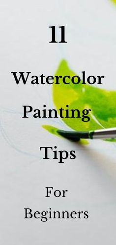 11 Awesome Watercolor Painting tips for beginners. Going over these tips will help you to get started watercolor painting! Learn Watercolor painting in this step by step tutorial. Watercolor painting for beginners. Learn how to paint. #watercolor Learn Watercolor Painting, Watercolor Paintings For Beginners, Watercolor Quote, Watercolor Lettering, Watercolor Tips, Watercolor Techniques, Hand Lettering, Painting Lessons, Painting Tips