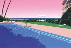 this isn't happiness™ (Poolside, Hiroshi Nagai), Peteski