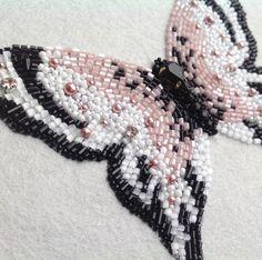 Авторская вышивка.Бабочка.Процессы...#embroidery #butterfly