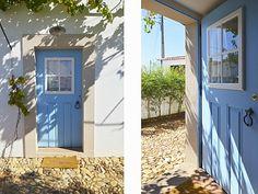 As portas tradicionais da casa