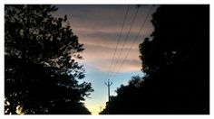 The Street of the sky In its evening glory  Photography by Arun Chullikkal Camera: MotoG Phone