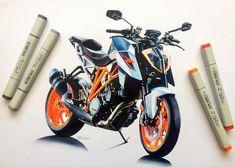 Bike Sketch, Car Sketch, Concept Motorcycles, Custom Motorcycles, Bike Drawing, Motorbike Design, Motorcycle Art, Car Drawings, Marker Art