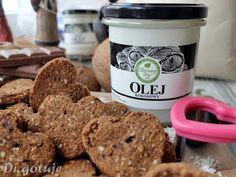 Di gotuje: Bezglutenowe ciasteczka czekoladowo-kokosowe (z mąki kokosowej)