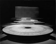 John Ferguson – Set for The Oresteia of Aeschylus, directed by Robert Lowell, NAC Theatre, 1983