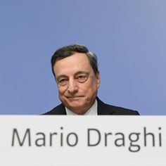 President of the European Central Bank Mario Draghi attends a press conference in Frankfurt