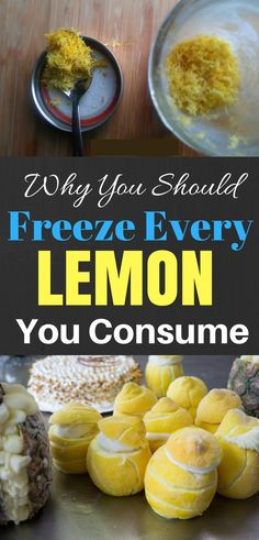 Why You Should Freeze Every Lemon You Consume - General Living Team