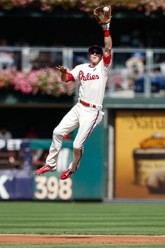 Chase Utley was drafted by the Philadelphia Phillies as a first round, 15th overall pick in 2000. He made his major league debut on April 4, 2003.