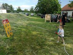 Gyerek program Baseball Field, Fire, Sports, Hs Sports, Sport