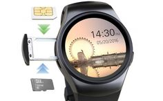 CEAS SMARTWATCH SMART GEAR HR KW18, BLACK – REDUCERE 49% !